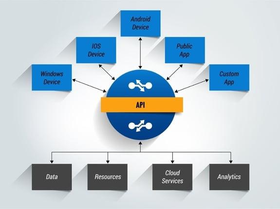 Intermap API Illustration