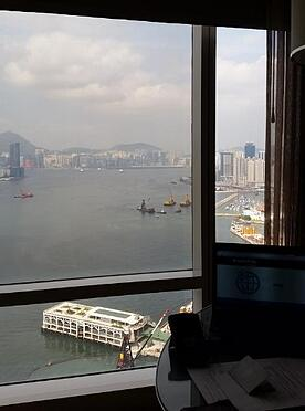 hotel view on Asian risk tour