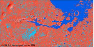 Mars Flood Modeling, JBA Risk Management